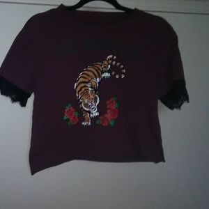 Cold Crush Burgundy Graphic Tee
